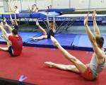 В Таганроге проходят сборы региональной спортивной команды по прыжкам на батуте (9-18 июня 2019)